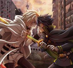 Mikaela Hyakuya + Yuichiro (Mika x yuu) Owari no Seraph / Seraph of the End #anime