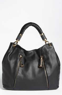 Michael Kors 'Tonne' Leather Hobo available at #Nordstrom    Ok, never been a huge MK fan, but Love this bag!
