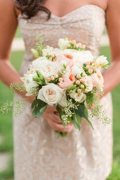Bridesmaid bouquet: http://www.stylemepretty.com/little-black-book-blog/2015/04/10/romantic-summer-wedding-at-pippin-hill-farm-vineyards/ | Photography: Katelyn James - http://katelynjames.com/