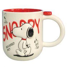 Peanuts Gang Snoopy Mug 14oz