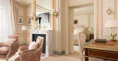The Ritz Paris Hotel - Executive Suite - Click to read the post or pin and save for later.