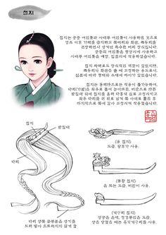 한복x복식 | 머리장식(1) | 첩지 | 흑요석