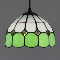 Grid Tiffany Lamp8S9-1G