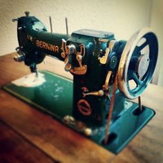One of the first BERNINA home sewing machines!