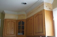 Kitchen Cabinet Trim Molding Ideas Tips For Installing Crown Moulding.