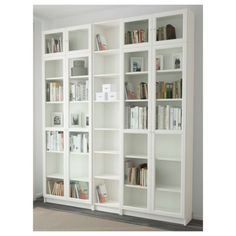 Online Ikea IKEA BILLY / OXBERG Bookcase, white in Auckland NZ. Lowest prices and largest range of IKEA Furniture in New Zealand. Shop for Living room furniture, outdoor furniture, bedroom furniture, office and alot more ! Bookcase With Glass Doors, Glass Cabinet Doors, Glass Shelves, Bookcase White, Buffet Vitrine, Libreria Billy Ikea, Billy Oxberg, Billy Regal, Home Office