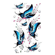 Lots of Butterflies Flying | flying butterfly tattoos