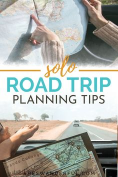 Solo Road Trip Tips for Women | Learn the best tips for how to plan a road trip when you're traveling alone, including packing list essentials and the best apps for road trips. #roadtrips #roadtripping #solofemaletravel #travelplanning #solotravel Road Trip On A Budget, Road Trip Packing List, Road Trip Games, Road Trip Essentials, Road Trips, Travel Advice, Travel Ideas, Travel Inspiration, World Travel Guide