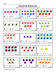 FREE worksheets, create your own worksheets, games. Kindergarten Addition Worksheets, Pre K Worksheets, Summer Worksheets, Subtraction Worksheets, Kindergarten Math, Skills To Learn, Free Math, Homeschool Math, Math For Kids