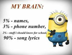 "If you want to get high score in exams you have to stay focus and attention of these ""Top Funny Minion Exam Quotes – Famous Funny Hilarious Memes and Pictures"". Funny Minion Pictures, Funny Minion Memes, Crazy Funny Memes, Really Funny Memes, Minions Quotes, Funny Love, Funny Facts, Minions Pics, Minion Stuff"