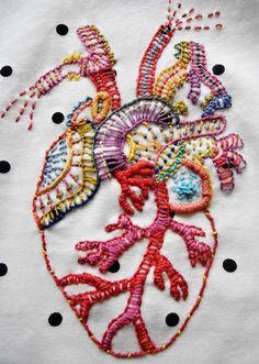 Sada pro tvorbu výšivky s anatomickým srdcem S touto vyšívací sadou můžete i vy mít srdce na pravém místě. Obsahuje vše, co potřebujete, včetně předlohy, bavlnek a podrobného návodu. Výsledná výšivka je asi 14 cm vysoká Celková náročnost cca 14–20 hod Sada obsahuje: • 11 vyšívacích přízí Perlovka po 1–10 m (červenou, růžovou, žlutou, oranžovou, fialovou, modrou, tyrkysovou, zelenou, korálovou, medovou, olivově zelenou) • srdečný vzor na překreslení • rozpustnou fólii 50 × 50 cm ...
