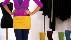 "You've heard it, but find out what the phrase ""pop of color"" can mean for your wardrobe. The simplest way to liven things up! Check out what Jill Martin has to say right here: Then show us your own style tip and enter for a chance at a NYC shopping spree with Jill! Click Here for your chance win: http://www.facebook.com/nononsense/app_285800794855133"