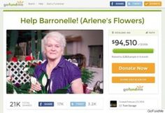 Florist's Funding 'Not Found': GoFundMe Shuts Down Second Fundraiser for Christian Businesses