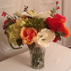 Thing of Beauty by SilkFloralsbyCandice on Etsy, $42.50
