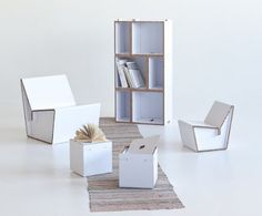 The Kasaa Shelf and The Kenno Chairs