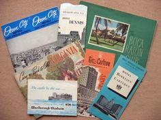Vintage Travel Brochures