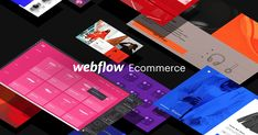 Ecommerce, meet complete design freedom. Visually design, build and grow online stores on a totally new, complete ecommerce platform. You've never seen ecommerce websites like this. Join the beta and get first access to Webflow Ecommerce.