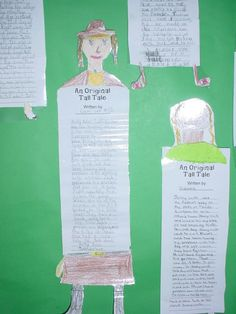 Tall Tale Writing- TOO Fun for second grade and up