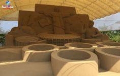 Em 2016, o Museu de Esculturas de Areia de Tottori está com tema América Latina! E o Brasil é um dos grandes destaques!