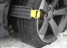 Avoid getting stuck in the snow this winter with Trac-Grabber, the traction solution for #vehicles.