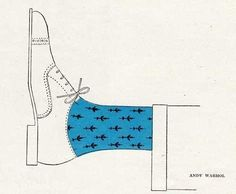Andy Warhol in Illustration