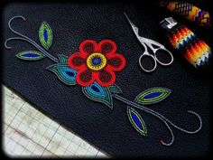 traditional ojibwe beadwork – Yahoo Image Search Results beadwork patterns Native Beading Patterns, Beadwork Designs, Loom Patterns, Indian Beadwork, Native Beadwork, Native American Beadwork, Bordados Tambour, Native American Crafts, Nativity Crafts