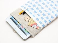 Ipad mini Case. Ipad mini bag. Apple Ipad mini sleeve. by BluCase, $22.90