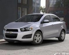 The chevrolet sonic is small and stylish car which offers several upscale safety features like forward collision alert, a lane departure warning system and a rear view camera. it's most preferred car among youngsters and suits their budget too.  http://www.westsidechevrolet.com/new/details/1G1JA5SH8F4129714/2015-Sonic-AUTO-Houston-Texas