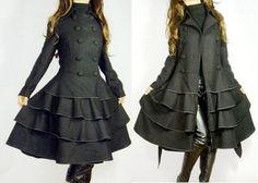 2013 spring news wool coatwool dress woolen coat lolita by dongli, $128.99