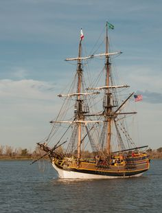 Lady Washington at Antioch, Calif. #ships #sailing #pirates http://historicalseaport.org/