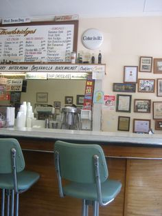 50s soda shop
