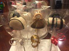 Designer Bag (Purse) Cake Pops www.facebook.com/FriscoCakePopShop  www.FriscoCakePopShop.com www.instagram.com/FriscoCakePopShop