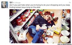 If i found Suga lying in my local supermarket looking all sexy i would pass out.. No joke XD