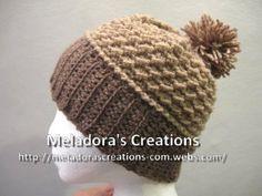 Moss Stitch Beanie - Meladora's Creations Free Crochet Patterns & Tutorials
