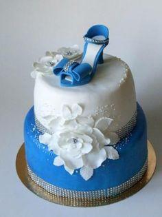 bolinho de casamento decorado