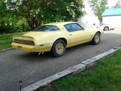 My Yellowbird after replacing over-arched rear leaf springs