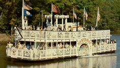 Dan River Queen - an old Missippi River boat