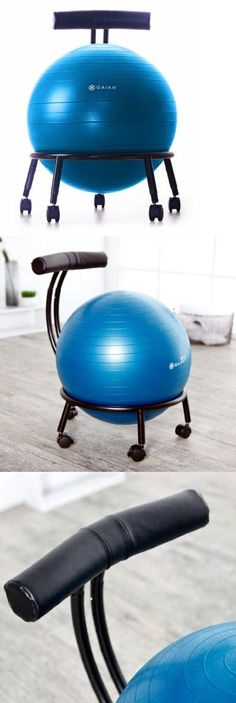exercise balls gaiam fit balance ball chair gym custom adjustable exercise ball chair