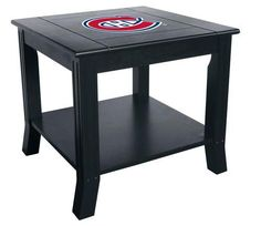 Montreal Canadiens End Table