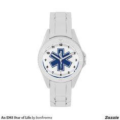 An EMS Star of Life Wristwatch