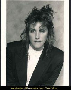 Laura Branigan 1987, promoting her new album Touch.
