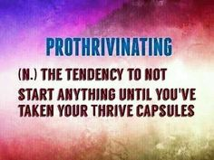 Pro THRIVE inating  www.heatherwestrich.le-vel.com