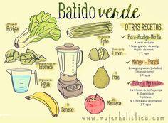 Batido s. m. Bebida que se hace triturando y mezclando (con una licuadora) componentes líquidos y sólidos, especialmente aguas, leches, jugos, frutas y/o verdura.