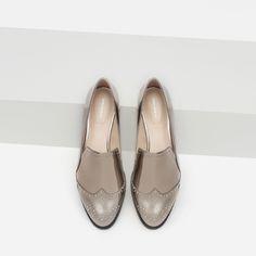 Zara Metallic Shoes, £29.99