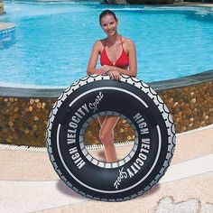 "47"" giant #inflatable high #velocity tyre tube swim ring toy lilo pool #float,  View more on the LINK: 	http://www.zeppy.io/product/gb/2/331770158778/"