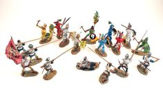 Michigan Toy Soldiers and Historical Miniatures:Morgan Aztecs, Conquistadors and the Spanish Conquest of Mexico