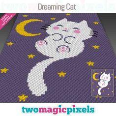 Good Night Cat, Fluffy Kittens, Dog Silhouette, Bobble Stitch, Yarn Brands, C2c, Yarn Colors, Yin Yang, Hama Beads
