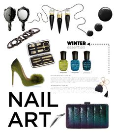 """""""Nail Art"""" by modern-glam-designs on Polyvore featuring beauty, Deborah Lippmann, Jessica McClintock, Lord & Taylor, Topshop, Christian Louboutin and Free Press"""