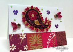 Quilled Paisley   Arty Sorts