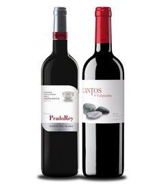 """CRIANZAS CON FUTURO: RIOJA + RIBERA DEL DUERO. Unimos las dos principales zonas vinícolas españolas para disfrutar –en una cata comparada– de 2 de los vinos con más proyección en ambas denominaciones de origen, procedentes de extraordinarios """"pagos"""": Cantos de Valpiedra Crianza 2012 vino con personalidad propia, que aúna todo el clasicismo y modernidad de la Rioja. PradoRey Finca Valdelayegua Crianza 2011 muestra las características de la Ribera del Duero: potencia, equilibrio y elegancia."""